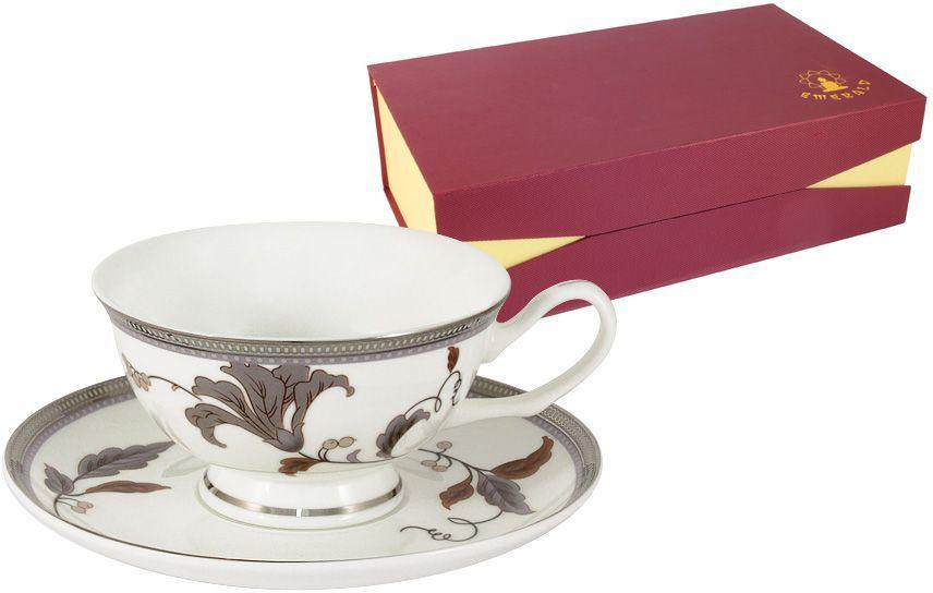 Набор чайный Emerald Серебряный лист, 12 предметов. E5-12-76P/12-ALE5-12-76P/12-ALНабор чайный Emerald Серебряный лист состоит из 6 чашек и 6 блюдец, выполненных извысококачественного фарфора. Набор оформлен стильным рисунком.Благодаря высокому качеству исполнения, разнообразным декорам и оптимальному соотношениюцена - качество, посуда Emerald завоевала огромную популярность у покупателей и пользуетсянеизменно высоким спросом.Поверхность изделий покрыта превосходной сверкающей глазурью, не содержащей свинца. Чайный набор Emerald - идеальный и необходимый подарокдля вашего дома и для ваших друзей в праздники.