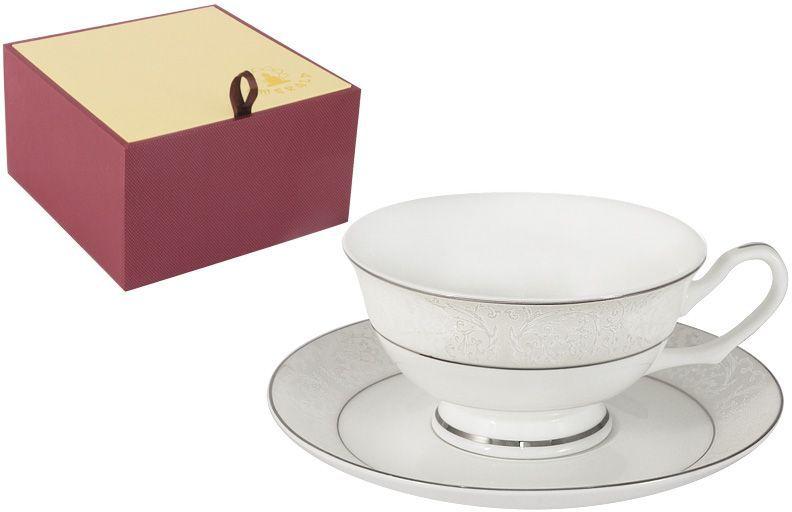 Чашка с блюдцем Emerald Мелисента, 0,2 л. E5-14-310/CS-ALE5-14-310/CS-ALЧашка с блюдцем Мелисента 0.2лЧайная и обеденная столовая посуда торговой марки Emerald произведена из высококачественного костяного фарфора.Благодаря высокому качеству исполнения, разнообразным декорам и оптимальному соотношению цена – качество, посуда Emerald завоевала огромную популярность у покупателей и пользуется неизменно высоким спросом. Изделия Emerald представлены как в виде обеденных и чайных сервизов на 6 и 12 персон. Поверхность изделий покрыта превосходной сверкающей глазурью, не содержащей свинца.