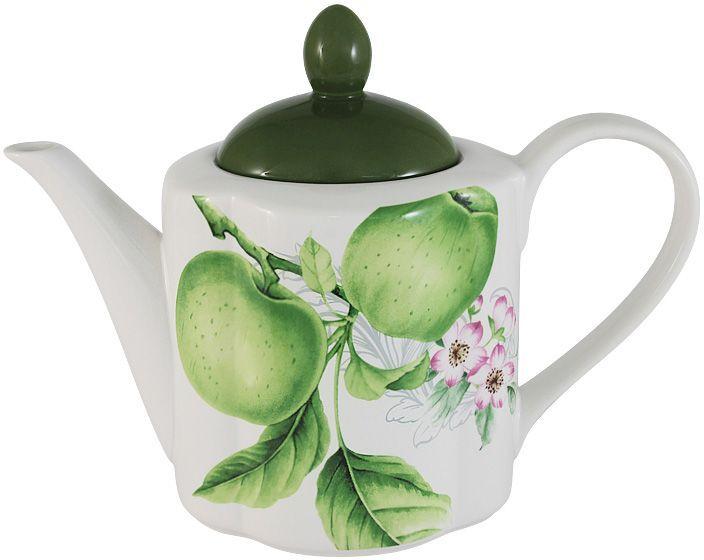 Чайник Imari Зеленые яблоки, 1,0 л. IM15018A/1-A2211ALIM15018A/1-A2211ALЧайник 1,0л Зеленые яблокиIMARI производит широкий ассортимент посуды из высококачественной керамики, основным ингредиентом которой является твердый доломит, поэтому все керамические изделия IMARI - легкие, белоснежные, прочные и устойчивы к высоким температурам. Высокое качество изделий достигается не только благодаря использованию особого сырья и новейших технологий и оборудования при изготовлении посуды, но также благодаря строгому контролю на всех этапах производственного процесса на фабрике в Китае. Нанесение сверкающей глазури, не содержащей свинца, придает изделиям IMARI превосходный блеск и особую прочность. Высокое качество исходного сырья и глазури позволяют мыть изделия IMARI в посудомоечных машинах.