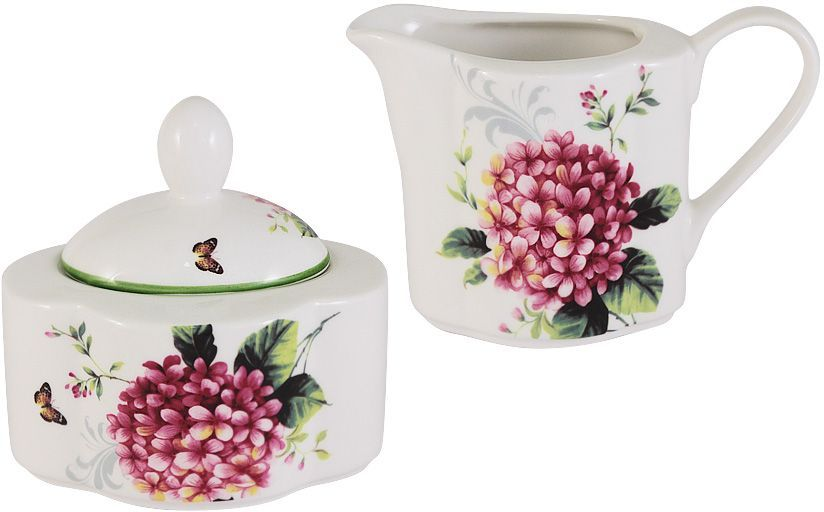 Набор Imari Цветы и птицы: сахарница, молочник игрушка аниме sega sega 8585828 sega