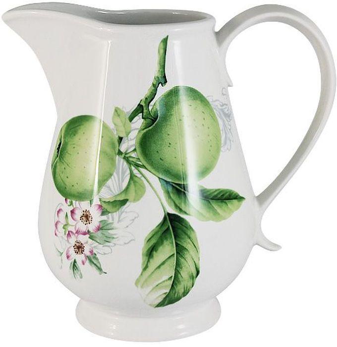 Кувшин Imari Зеленые яблоки, 1 лIM15020-A2211ALКувшин Imari изготовлен из высококачественной керамики, декорированной оригинальным рисунком. Нанесение сверкающей глазури, не содержащей свинца, придает изделию превосходный блеск и особую прочность. Изделие прекрасно впишется в интерьер кухни и станет отличным дополнением к коллекции кухонных аксессуаров. Imari производит широкий ассортимент посуды из высококачественной керамики, основным ингредиентом которой является твердый доломит, поэтому все керамические изделия Imari - легкие, белоснежные, прочные и устойчивы к высоким температурам. Высокое качество изделий достигается не только благодаря использованию особого сырья и новейших технологий и оборудования при изготовлении посуды, но также благодаря строгому контролю на всех этапах производственного процесса на фабрике в Китае. Нанесение сверкающей глазури, не содержащей свинца, придает изделиям Imari превосходный блеск и особую прочность. Высокое качество исходного сырья и глазури позволяют мыть изделия Imari в посудомоечных машинах.Не использовать в СВЧ. Можно мыть с применением жидких моющих средств и в посудомоечной машине.