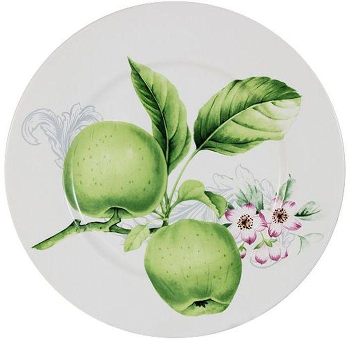 Тарелка Imari Зеленые яблоки, диаметр 23 смIM35031-A2211ALТарелка Imari Зеленые яблоки выполнена из высококачественной керамики, основным ингредиентом которой является твердый доломит. Изделие легкое, белоснежное, прочное и устойчивое к высоким температурам. Нанесение сверкающей глазури, не содержащей свинца, придает изделию превосходный блеск и особую прочность. Высокое качество достигается не только благодаря использованию особого сырья, новейших технологий и оборудования, но также благодаря строгому контролю на всех этапах производственного процесса. Тарелка декорирована красочным изображением зеленых яблок. Она оригинально дополнит сервировку стола и станет практичным приобретением для кухни. Высокое качество исходного сырья и глазури позволяет мыть изделие в посудомоечной машине.