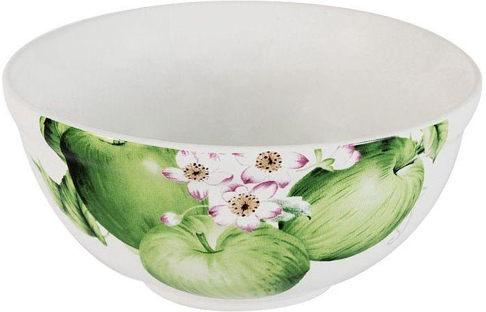Салатник Imari Зеленые яблоки, диаметр 13 смIM45018-A2211ALСалатник Imari Зеленые яблоки выполнен из высококачественной керамики, основным ингредиентом которой является твердый доломит. Изделие легкое, белоснежное, прочное и устойчивое к высоким температурам. Нанесение сверкающей глазури, не содержащей свинца, придает изделию превосходный блеск и особую прочность. Высокое качество достигается не только благодаря использованию особого сырья, новейших технологий и оборудования, но также благодаря строгому контролю на всех этапах производственного процесса. Изделие декорировано красочным изображением зеленых яблок. Такой салатник отлично подойдет для сервировки салатов, закусок, солений, соусов. Он оригинально дополнит сервировку стола и станет практичным приобретением для кухни. Высокое качество исходного сырья и глазури позволяет мыть изделие в посудомоечной машине.