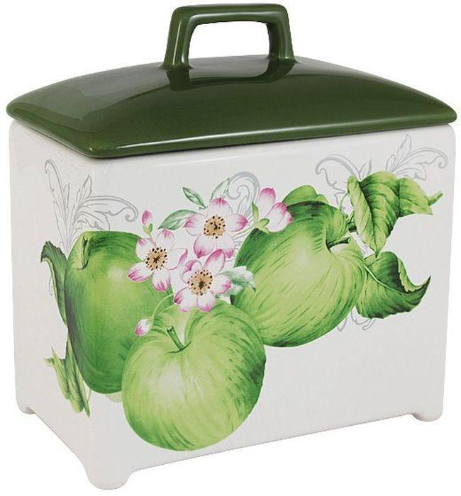 Банка для сыпучих продуктов Imari Зеленые яблоки, 18см. IM55060/1-A2211ALIM55060/1-A2211ALБанка для сыпучих продуктов 18см Зеленые яблокиIMARI производит широкий ассортимент посуды из высококачественной керамики, основным ингредиентом которой является твердый доломит, поэтому все керамические изделия IMARI - легкие, белоснежные, прочные и устойчивы к высоким температурам. Высокое качество изделий достигается не только благодаря использованию особого сырья и новейших технологий и оборудования при изготовлении посуды, но также благодаря строгому контролю на всех этапах производственного процесса на фабрике в Китае. Нанесение сверкающей глазури, не содержащей свинца, придает изделиям IMARI превосходный блеск и особую прочность. Высокое качество исходного сырья и глазури позволяют мыть изделия IMARI в посудомоечных машинах.