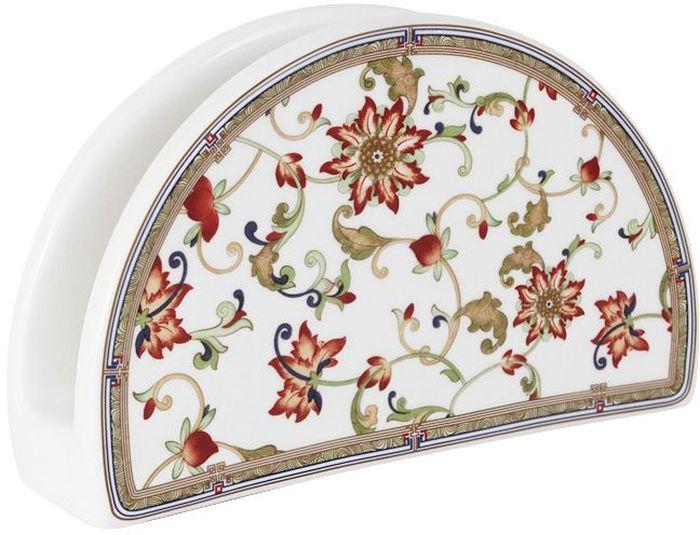 Салфетница Imari КардиналIM65080-A194/NALСалфетница Imari Кардинал выполнена из высококачественной керамики иукрашена ярким рисунком. Салфетница идеально подойдет для украшения стола истанет отличным подарком к любому празднику.Элегантный дизайн салфетницы придется по вкусу и ценителям классики, и тем,кто предпочитает современный стиль.