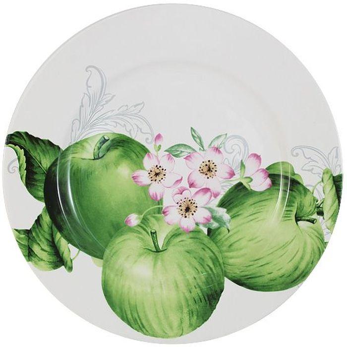 Тарелка обеденная Imari Зеленые яблоки, диаметр 27 смIMA0180H-A2211ALОбеденная тарелка Imari Зеленые яблоки выполнена из высококачественной керамики, основным ингредиентом которой является твердый доломит. Изделие легкое, белоснежное, прочное и устойчивое к высоким температурам. Нанесение сверкающей глазури, не содержащей свинца, придает изделию превосходный блеск и особую прочность. Высокое качество достигается не только благодаря использованию особого сырья, новейших технологий и оборудования, но также благодаря строгому контролю на всех этапах производственного процесса. Изделие декорировано красочным изображением зеленых яблок. Обеденная тарелка предназначена для сервировки вторых блюд. Она оригинально дополнит сервировку стола и станет практичным приобретением для кухни. Высокое качество исходного сырья и глазури позволяет мыть изделие в посудомоечной машине.