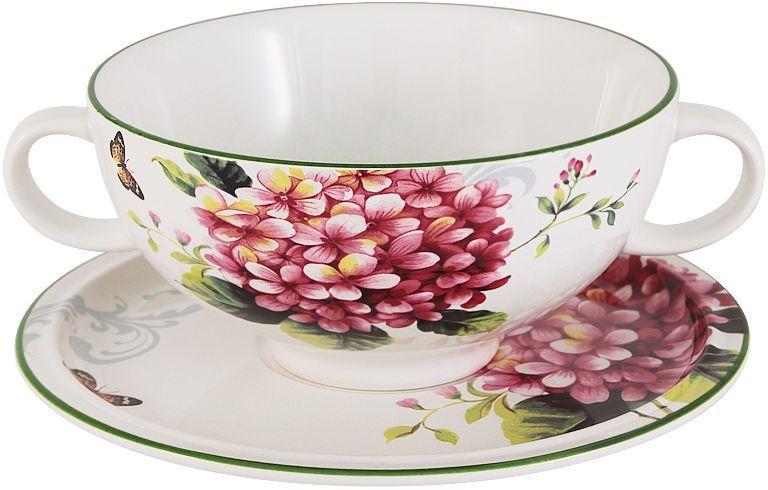 Суповая чашка на блюдце Imari Цветы и птицы, 0,5 л. IMB0304-A2210ALIMB0304-A2210ALСуповая чашка на блюдце 0,5л Цветы и птицыIMARI производит широкий ассортимент посуды из высококачественной керамики, основным ингредиентом которой является твердый доломит, поэтому все керамические изделия IMARI - легкие, белоснежные, прочные и устойчивы к высоким температурам. Высокое качество изделий достигается не только благодаря использованию особого сырья и новейших технологий и оборудования при изготовлении посуды, но также благодаря строгому контролю на всех этапах производственного процесса на фабрике в Китае. Нанесение сверкающей глазури, не содержащей свинца, придает изделиям IMARI превосходный блеск и особую прочность. Высокое качество исходного сырья и глазури позволяют мыть изделия IMARI в посудомоечных машинах.