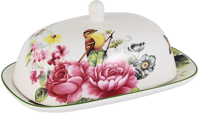 Масленка Imari Цветы и птицы, 18х13 см. IMB0360-A2210ALIMB0360-A2210ALМаслёнка 18х13см Цветы и птицыIMARI производит широкий ассортимент посуды из высококачественной керамики, основным ингредиентом которой является твердый доломит, поэтому все керамические изделия IMARI - легкие, белоснежные, прочные и устойчивы к высоким температурам.Высокое качество изделий достигается не только благодаря использованию особого сырья и новейших технологий и оборудования при изготовлении посуды, но также благодаря строгому контролю на всех этапах производственного процесса на фабрике в Китае. Нанесение сверкающей глазури, не содержащей свинца, придает изделиям IMARI превосходный блеск и особую прочность. Высокое качество исходного сырья и глазури позволяют мыть изделия IMARI в посудомоечных машинах.