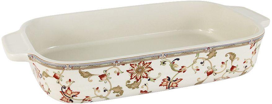 Форма для запекания Imari Кардинал, прямоугольная, 32 х 19 х 5,5 смIMM0015M-A1940ALПрямоугольная форма для запекания Imari Кардинал выполнена из керамики с глазурованным покрытием. Изделие оснащено удобными ручками. Пригодна для использования в микроволновых печах, морозильных камерах, духовках и для мытья в посудомоечной машине.
