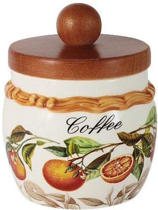 Банка для кофе LCS Апельсины, с крышкой, 0,5 л. LCS010/PLC-AR-ALLCS010/PLC-AR-ALБанка для сыпучих продуктов с деревянной крышкой 0,5 л (кофе) АпельсиныLCS - молодая, динамично развивающаяся итальянская компания из Флоренции, производящая разнообразную керамическую посуду и изделия для украшения интерьера.В своих дизайнах LCS использует как классические, так и современные тенденции.Высокий стандарт изделий обеспечивается за счет соединения высоко технологичного производства и использования ручной работы профессиональных дизайнеров и художников, работающих на фабрике.