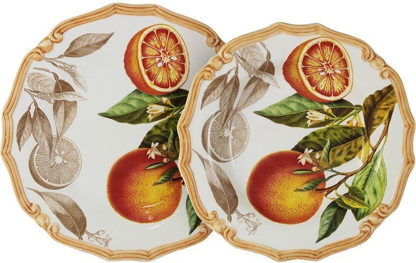Набор тарелок LCS Апельсины, 2 штLCS053/2-AR-ALНабор LCS Апельсины состоит из суповой и обеденной тарелок,изготовленных из высококачественной керамики.Сервировка праздничного стола таким набором станет великолепным украшениемлюбого торжества. Диаметр суповой тарелки: 23,5 см.Диаметр обеденной тарелки: 25 см.LCS - молодая, динамично развивающаяся итальянская компания из Флоренции,производящая разнообразную керамическую посуду и изделия для украшенияинтерьера. В своих дизайнах LCS использует как классические, так исовременные тенденции.Высокий стандарт изделий обеспечивается за счет соединения высокотехнологичногопроизводства и использования ручной работыпрофессиональных дизайнеров ихудожников, работающих на фабрике.