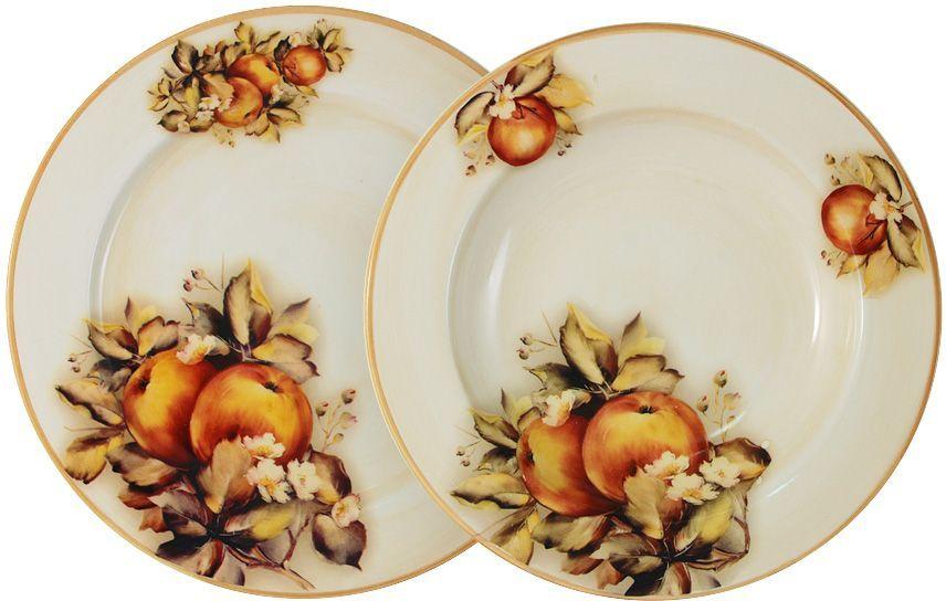 Набор тарелок LCS Зимние яблоки, 2 штLCS353/2-M-ALНабор LCS Зимние яблоки состоит из суповой и обеденной тарелок,изготовленных из высококачественной керамики.Сервировка праздничного стола таким набором станет великолепным украшениемлюбого торжества. Диаметр суповой тарелки: 23,5 см.Диаметр обеденной тарелки: 25 см.LCS - молодая, динамично развивающаяся итальянская компания из Флоренции,производящая разнообразную керамическую посуду и изделия для украшенияинтерьера. В своих дизайнах LCS использует как классические, так исовременные тенденции.Высокий стандарт изделий обеспечивается за счет соединения высокотехнологичногопроизводства и использования ручной работыпрофессиональных дизайнеров ихудожников, работающих на фабрике.