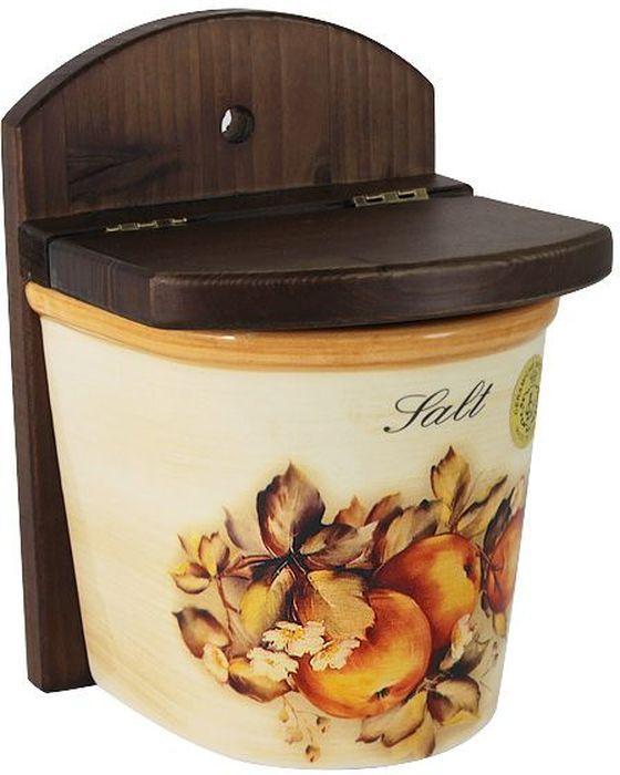 Банка для соли LCS Зимние яблокиLCS871/LN-M-ALБанка для соли LCS Зимние яблоки оформлена оригинальным рисунком. Банкаоснащена крышкой. В ней будет удобно хранить соль, прикрепив банку на стену. Такая банка не только сэкономит место навашей кухне, но и украсит интерьер.