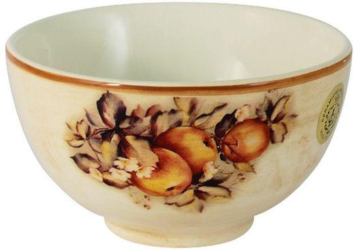 Салатник LCS Зимние яблоки, диаметр 14 смLCS935-M-ALСалатник LCS, изготовленный из высококачественной керамики, прекрасно подойдет для подачи различных блюд: закусок, салатов или фруктов. Такой салатник украсит ваш праздничный или обеденный стол. LCS - молодая, динамично развивающаяся итальянская компания из Флоренции, производящая разнообразную керамическую посуду и изделия для украшения интерьера. В своих дизайнах LCS использует как классические, так и современные тенденции.Высокий стандарт изделий обеспечивается за счет соединения высоко технологичного производства и использования ручной работы профессиональных дизайнеров и художников, работающих на фабрике.