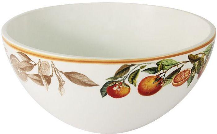 Салатник LCS Апельсины, диаметр 20 смLCS938/G-AR-ALСалатник LCS, изготовленный из высококачественной керамики, прекрасно подойдет для подачи различных блюд: закусок, салатов или фруктов. Такой салатник украсит ваш праздничный или обеденный стол.LCS - молодая, динамично развивающаяся итальянская компания из Флоренции, производящая разнообразную керамическую посуду и изделия для украшения интерьера.В своих дизайнах LCS использует как классические, так и современные тенденции.Высокий стандарт изделий обеспечивается за счет соединения высоко технологичного производства и использования ручной работы профессиональных дизайнеров и художников, работающих на фабрике.