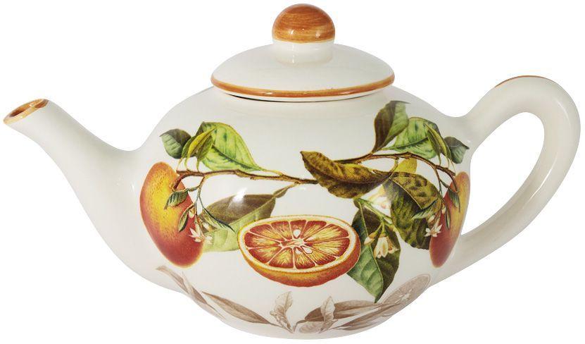 Чайник LCS Апельсины, 0,65 л. LCS958/TP-AR-AL банка для продуктов lcs элианто coffee 0 5 л lcs670рlс el al