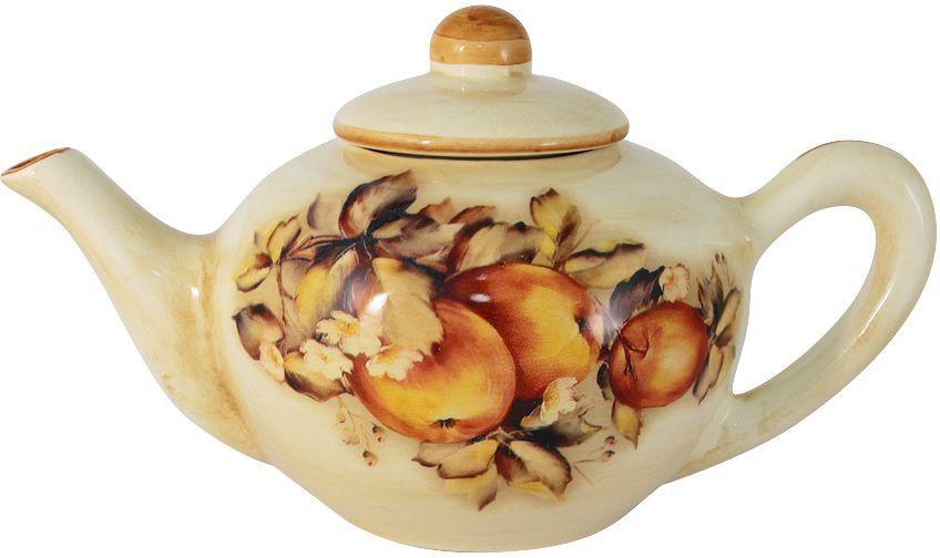 Чайник заварочный LCS Зимние яблоки, 650 млLCS958/TP-M-ALЗаварочный чайник LCS Зимние яблоки, изготовленный из высококачественной керамики, оснащен удобной ручкой и крышкой. Изделие оформлено ярким рисунком. Такой чайник придется по вкусу и ценителям классики, и тем, кто предпочитает утонченность и изысканность.