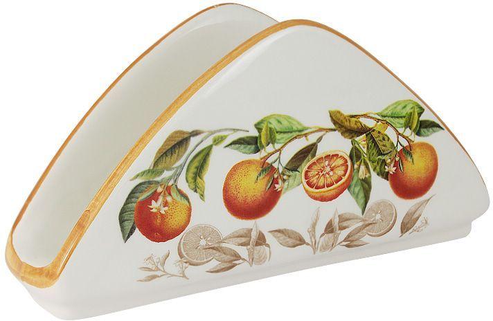 Салфетница LCS Апельсины, 21 х 5 смLCS996-AR-ALСалфетница LCS изготовлена из керамики и оформлена принтом. Такая салфетница великолепно украсит праздничный стол.