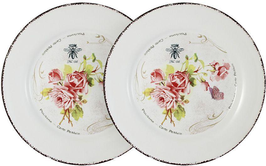 Набор обеденных тарелок LF Ceramic Розы, 25 см, 2 шт. LF-120E2257-4-ALLF-120E2257-4-ALНабор из 2-х обеденных тарелок 25см РозыДля изготовления посуды LF Ceramic используется экологически чистая керамика, отличительной особенностью которой является прочность. Посуду LF Ceramic можно использовать в микроволновых печах для приготовления блюд, поскольку эта керамика выдерживает высокие температуры. Мыть керамическую посуду рекомендуется теплой водой с небольшим количеством моющих средств. Лучше не использовать абразивные пасты и металлические мочалки. Допускается мытье в посудомоечной машине при соблюдении инструкции изготовителя посудомоечной машины.