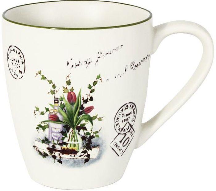 Кружка LF Ceramic Букет, 450 мл банка для чая lf ceramic лаванда 700 мл