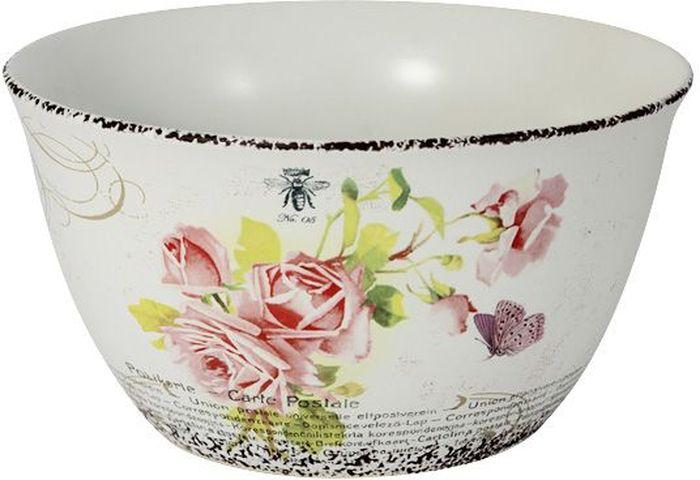 Салатник LF Ceramic Розы, диаметр 17 см салатник lf ceramic королевский диаметр 17 5 см