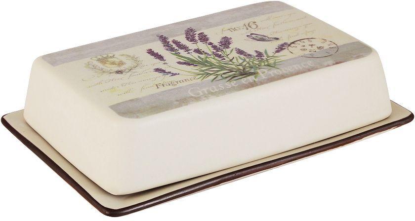 Масленка LF Ceramic ЛавандаLF-215F8572-ALВеликолепная масленка LF Ceramic, выполненная из высококачественной керамики, предназначена для красивой сервировки и хранения масла. Она состоит из подноса и крышки. Масло в ней долго остается свежим, а при хранении в холодильнике не впитывает посторонние запахи.Масленка LF Ceramic идеально подойдет для сервировки стола и станет отличным подарком к любому празднику.Для изготовления посуды LF Ceramic используется экологически чистая керамика, отличительной особенностью которой является прочность.Посуду LF Ceramic можно использовать в микроволновых печах для приготовления блюд, поскольку эта керамика выдерживает высокие температуры. Мыть керамическую посуду рекомендуется теплой водой с небольшим количеством моющих средств. Лучше не использовать абразивные пасты и металлические мочалки. Допускается мытье в посудомоечной машине при соблюдении инструкции изготовителя посудомоечной машины.