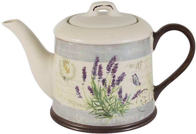 Чайник LF Ceramic Лаванда, 1,0 л банка для чая lf ceramic лаванда 700 мл