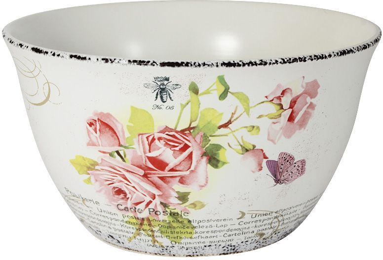 Салатник LF Ceramic Розы, диаметр 22 см салатник lf ceramic королевский диаметр 17 5 см