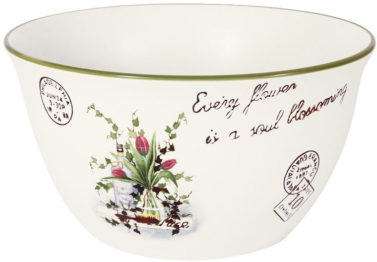 """Салатник 22см """"Букет""""Для изготовления посуды LF Ceramic используется экологически чистая керамика, отличительной особенностью которой является прочность. Посуду LF Ceramic можно использовать в микроволновых печах для приготовления блюд, поскольку эта керамика выдерживает высокие температуры. Мыть керамическую посуду рекомендуется теплой водой с небольшим количеством моющих средств. Лучше не использовать абразивные пасты и металлические мочалки. Допускается мытье в посудомоечной машине при соблюдении инструкции изготовителя посудомоечной машины."""