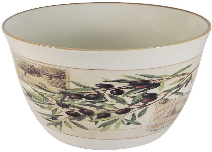 Салатник LF Ceramic Оливки, диаметр 22 см салатник lf ceramic королевский диаметр 17 5 см