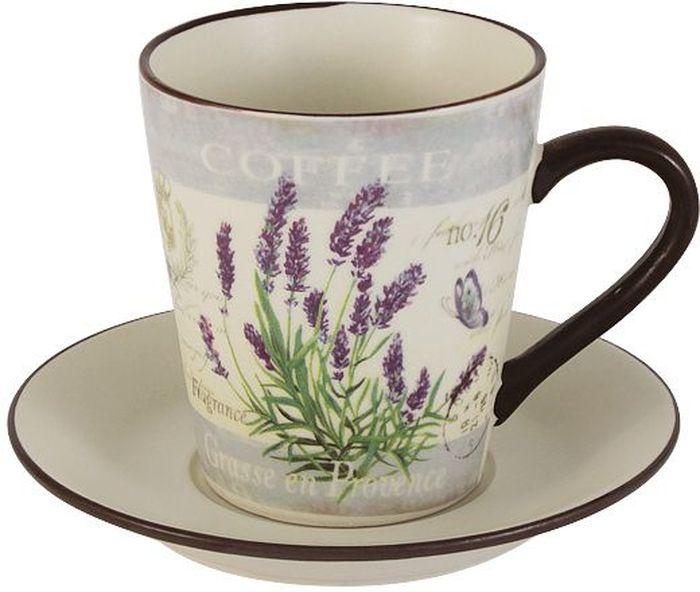 Чайная пара LF Ceramic Лаванда. 2 предметаLF-430F8556-1-ALЧайная пара LF Ceramic Лаванда состоит из чашки и блюдца, изготовленных из высококачественной глазурованной керамики. Яркий дизайн изделий, несомненно, придется вам по вкусу.Чайная пара LF Ceramic Лаванда украсит ваш кухонный стол, а также станет замечательным подарком к любому празднику.Объем чашки: 200 мл.