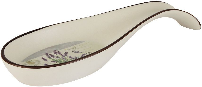 Подставка под ложку LF Ceramic Лаванда, длина 22 см банка для чая lf ceramic лаванда 700 мл