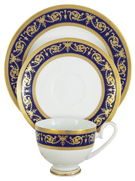 Набор чайный Midori Императорский, цвет: кобальт, 3 предмета. MI2-K655A-E8/3-ALMI2-K655A-E8/3-ALНабор чайный Midori Императорский состоит из чашки, блюдца и десертной тарелки. Набор изготовлен из высококачественного фарфора и оформлен стильным рисунком.Изящный дизайн придется по вкусу и ценителям классики, и тем, кто предпочитает утонченность и изысканность. Он настроит на позитивный лад и подарит хорошее настроение с самого утра. Чайный набор Midori - идеальный и необходимый подарок для вашего дома и для ваших друзей в праздники.