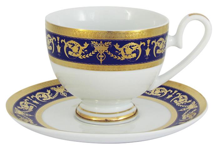 Чашка с блюдцем Midori Императорский, 0,2 л. MI2-K655A-E8/CS-ALMI2-K655A-E8/CS-ALЧашка с блюдцем Midori Императорский выполнена из высококачественного твердого фарфора. Оригинальный дизайн, несомненно, придется вам по вкусу.Чайная пара Midori Императорский украсит ваш кухонный стол, а также станет замечательным подарком к любому празднику.