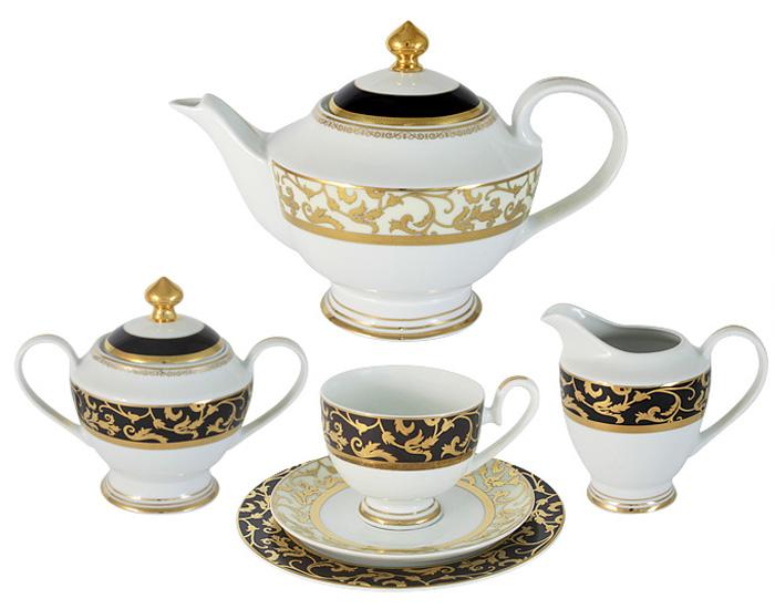 Чайный сервиз Midori Толедо, 23 предмета, 6 персон. MI2-K6892-Y6/23B-AL midori