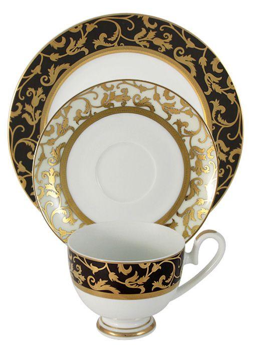 Набор чайный Midori Толедо, 3 предмета. MI2-K6892-Y6/3-ALMI2-K6892-Y6/3-ALНабор чайный Midori Толедо состоит из чашки, блюдца и десертной тарелки. Набор изготовлен из высококачественного фарфора и оформлен стильным рисунком.Изящный дизайн придется по вкусу и ценителям классики, и тем, кто предпочитает утонченность и изысканность. Он настроит на позитивный лад и подарит хорошее настроение с самого утра. Чайный набор Midori - идеальный и необходимый подарок для вашего дома и для ваших друзей в праздники.