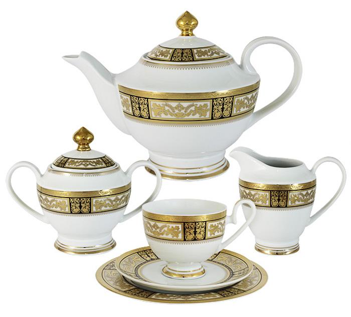 Чайный сервиз Midori Елизавета, 23 предмета, 6 персон. MI2-K7703-Y7/23A-AL midori