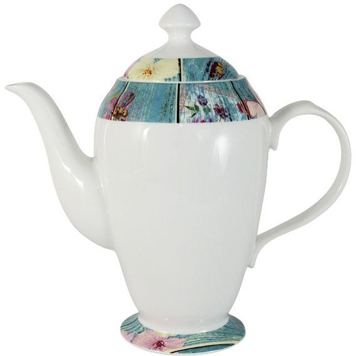 Чайник Primavera Fine Bone China Фантазия, 1,4 л. PWW-150118-11ALPWW-150118-11ALЧайник объемом 1.4л Фантазия. Обеденные и чайные сервизы торговой марки Primavera изготовлены из фарфора с добавлением костной золы (7-15%), благодаря которой фарфор получается прозрачным и прочным. Посуда подходит для ежедневного использования, благодаря отсутствию серебряной и золотой отделки посуду можно мыть в посудомоечной машине, а также использовать в микроволновой печи.