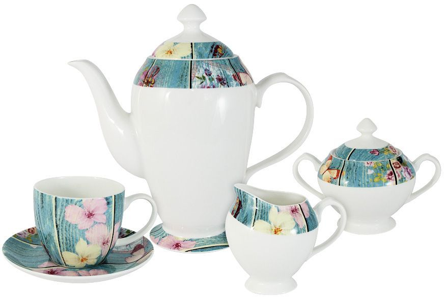 Набор чайный Primavera Fine Bone China