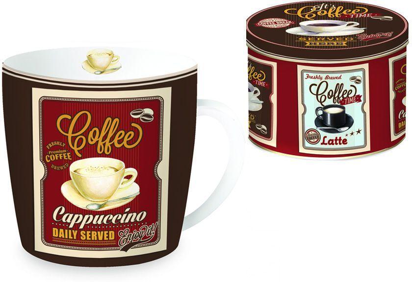 Кружка Nuova R2S Капучино, 0,35 л. R2S217/CAPP-AL кружка кофе 350 мл nuova r2s s p a кружка кофе 350 мл