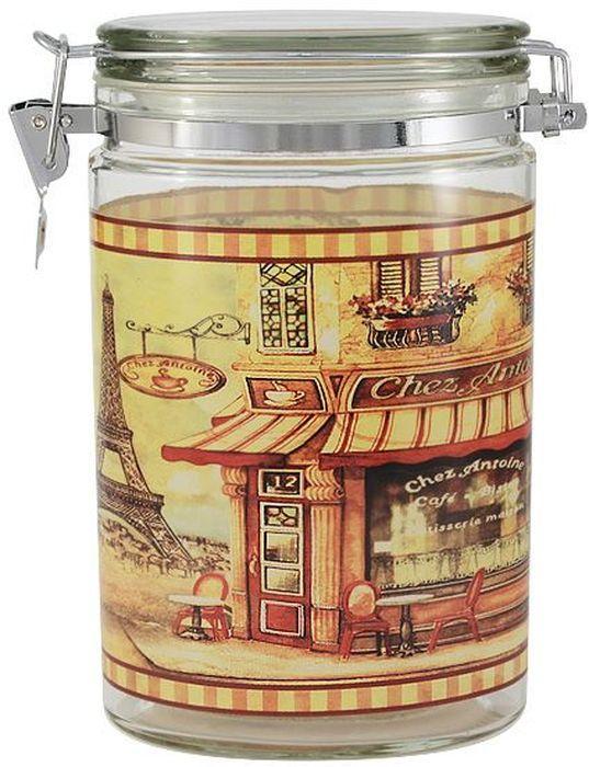Банка для сыпучих продуктов SinoGlass Бутик, 1,2 лSI-922148204-ALБанка для сыпучих продуктов SinoGlass Бутик выполнена из прочного стекла. Внешние стенки дополнены оригинальным изображением. Банка снабжена крышкой с металлическим зажимом, благодаря которому внутри сохраняется герметичность, и продукты дольше остаются свежими. Изделие предназначено для хранения различных сыпучих продуктов: круп, чая, сахара, орехов и многого другого. Функциональная и вместительная банка станет незаменимым аксессуаром на любой кухне. Банка очень удобна, практична в использовании, легко моется.