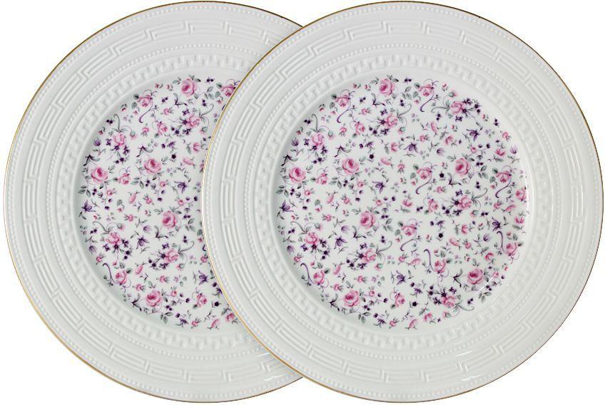 Набор обеденных тарелок Colombo Стиль, 27 см, 2 штC2-DR/2-6402ALНабор Colombo Стиль состоит из двух обеденных тарелок,изготовленных из костяного фарфора высшегокачества, отличающегося необыкновенной прочностью инебольшим весом. Яркий дизайн изделий, несомненно, придется вам по вкусу.Набор Colombo Лаура украсит ваш кухонный стол, а такжестанет замечательным подарком к любому празднику. Диаметр тарелки: 27 см.