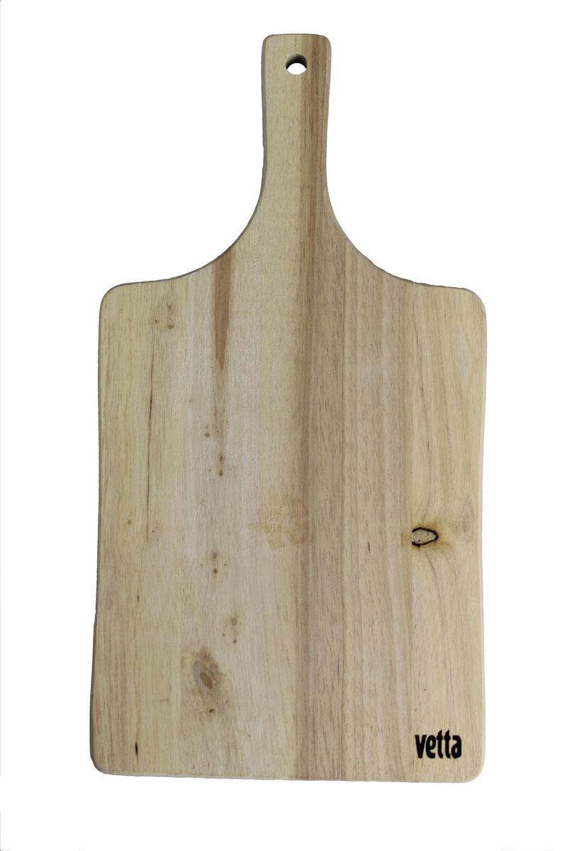 Доска разделочная Vetta, 16,5 х 32 см851083Разделочная доска Vetta, изготовленная из бамбука, прекрасно подходит для разделки и измельчения всех видов продуктов. Доска имеет отверстие для подвешивания на крючок.