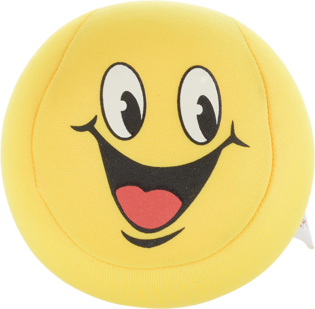 Игрушка-антистресс Home Queen Смайлик, цвет: желтый, диаметр 10 см70062_желтыйИгрушка-антистресс Home Queen Смайлик способна стать аккумулятором хорошего настроения. Игрушка выполнена из трикотажной ткани в виде веселого смайлика, внутри - наполнитель из полистирола. Игрушка легкая, упругая, как бы вы ее ни сжимали, она неизменно возвращает себе первоначальную форму. Тысячи мельчайших гранул полистирола создают поистине волшебный релаксирующий эффект. Такая игрушка - идеальный рецепт хорошего настроения! Она подходит абсолютно всем, поскольку не вызывает аллергии.Уважаемые клиенты! Обращаем ваше внимание на возможные изменения в дизайне товара, рисунок на игрушке может отличаться от изображенного на фотографии. Поставка осуществляется в зависимости от наличия на складе.