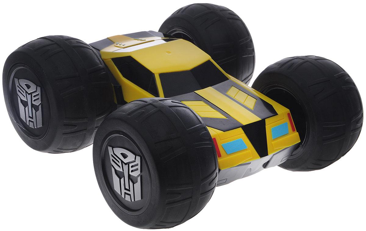 Dickie Toys Машина-перевертыш на радиоуправлении Bumblebee dickie toys машинка bumblebee tin box