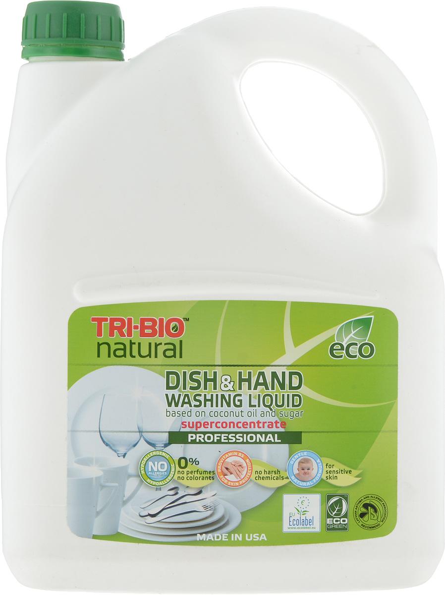 Средство для мытья посуды Tri-Bio, 2,84 л биосредство для мытья полов tri bio 940 мл