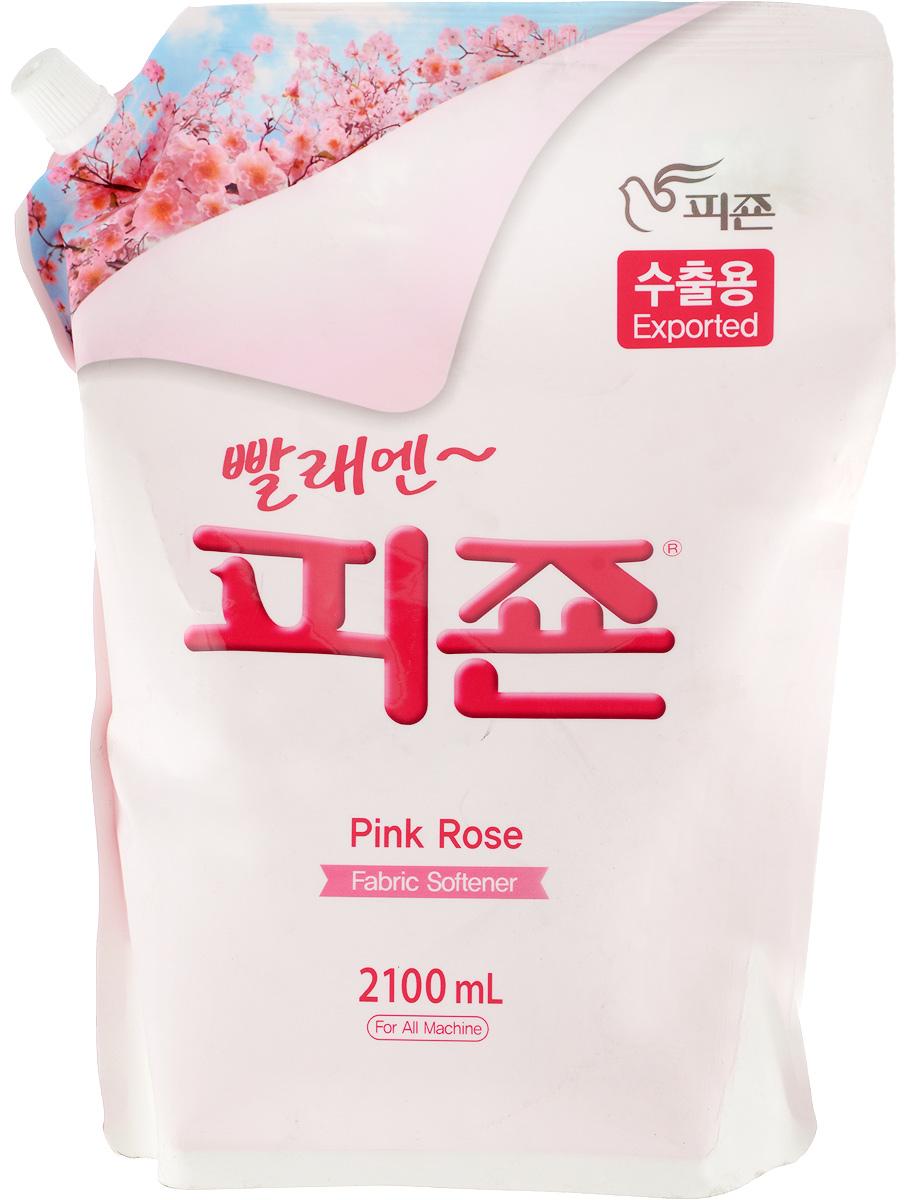 Кондиционер для белья Pigeon Роза, концентрированный, 2,1 л кондиционер для волос роза и ежевика