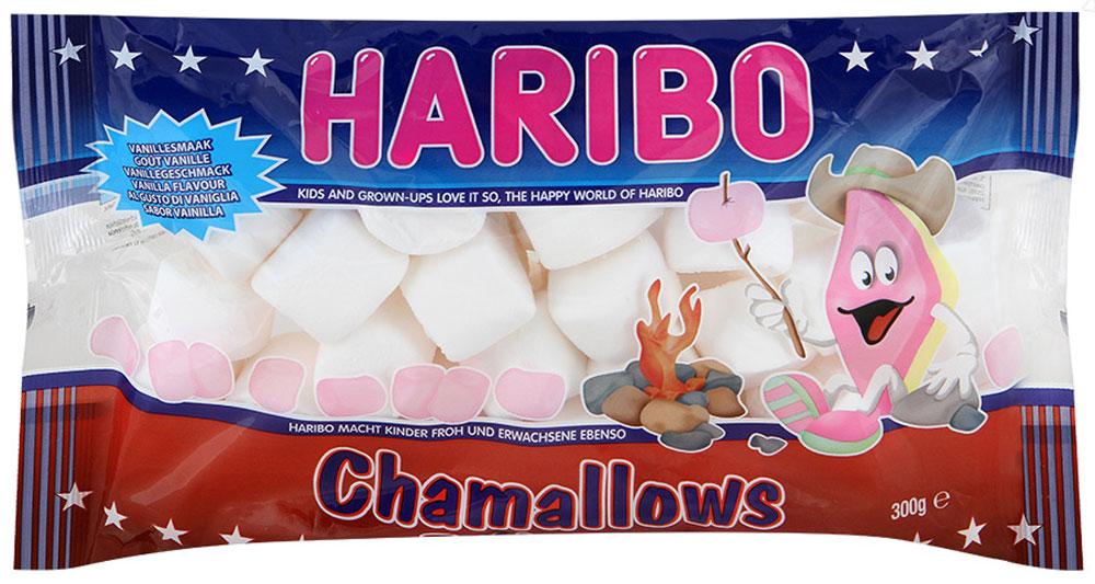 Haribo Шамеллоус Барбекю зефирные конфеты, 300 г зефирные конфеты haribo маршмеллоу 100г