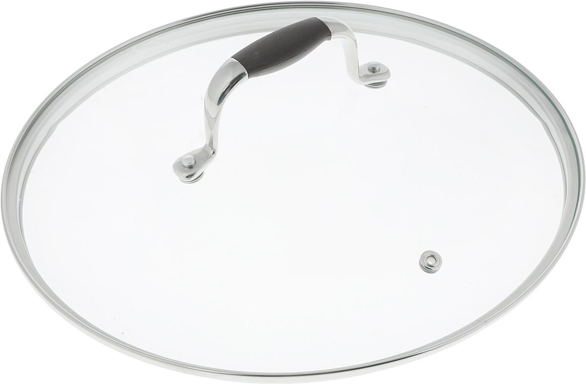 Крышка Rondell Mocco. Диаметр 26 смRDА-534Крышка Rondell Mocco, изготовленная из закаленного стекла, позволяет контролировать процесс приготовления без потери тепла. Ободок из нержавеющей стали предотвращает сколы на стекле. Крышка оснащена отверстием для выпуска пара. Нескользящая ручка выполнена из нержавеющей стали с вставкой из силикона.Крышку можно мыть в посудомоечной машине. Не подходит для использования в духовке.Диаметр крышки: 26 см. Посуда Rondell совсем недавно появилась на российском рынке, но уже прекрасно себя зарекомендовала. Эту посуду по достоинству оценили тысячи любителей кулинарии, а рекомендации профессионалов - шеф-поваров многих ресторанов и ведущих популярных кулинарных программ служат дополнительным весомым аргументом в ее пользу. Профессиональные технологии, изысканный дизайн и широкий ассортимент делают посуду Rondell исключительно привлекательной для всех, кто любит и умеет готовить.