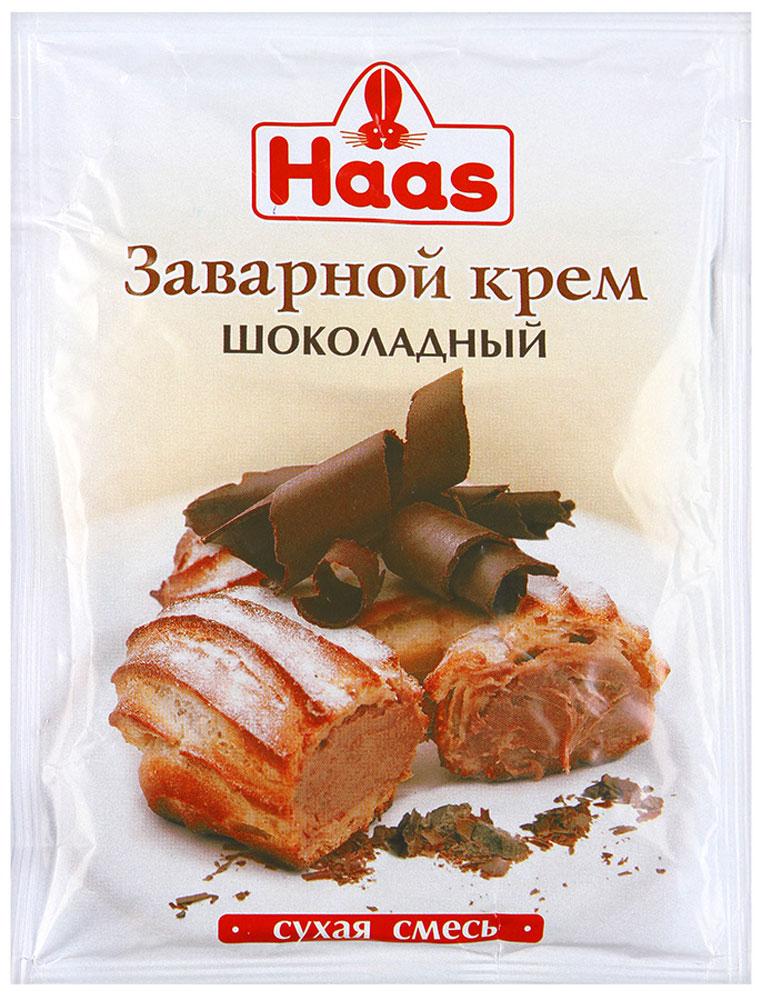 Haas крем заварной шоколадный, 100 г